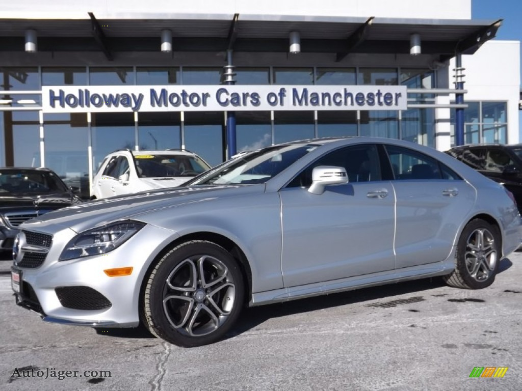 2015 Mercedes Benz Cls 400 4matic Coupe In Iridium Silver