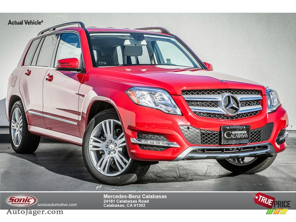 2015 Mercedes Benz Glk 350 4matic In Mars Red 347775