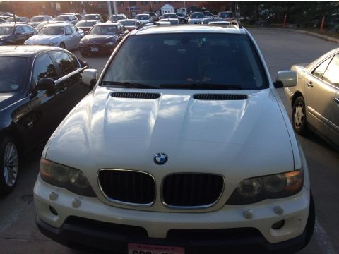 Alpine White 2004 BMW X5 3.0i