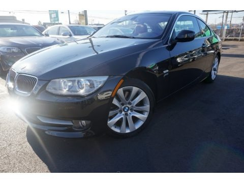 Jet Black 2011 BMW 3 Series 328i xDrive Coupe