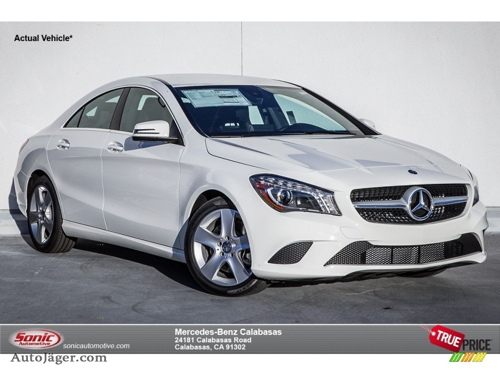2015 mercedes benz cla 250 in cirrus white 162765 auto. Black Bedroom Furniture Sets. Home Design Ideas