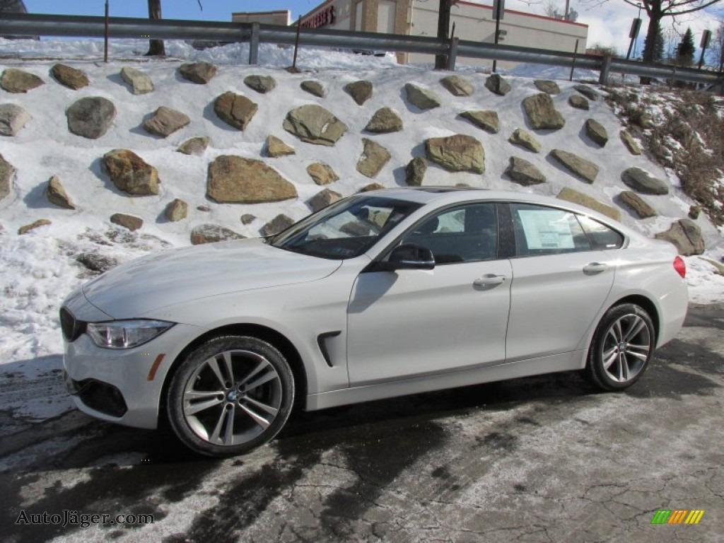 Alpine White Black BMW 4 Series 428i XDrive Gran Coupe