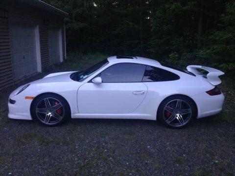 Carrara White 2008 Porsche 911 Carrera S Coupe