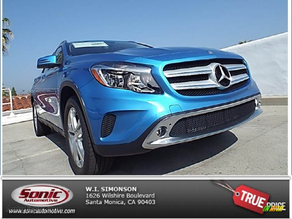 2015 mercedes benz gla 250 4matic in south seas blue for Simonson mercedes benz