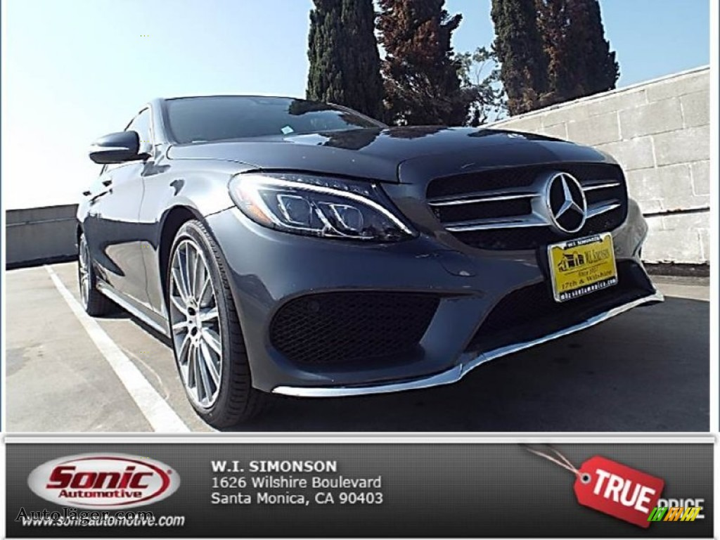 2015 mercedes benz c 400 4matic in steel grey metallic for Simonson mercedes benz