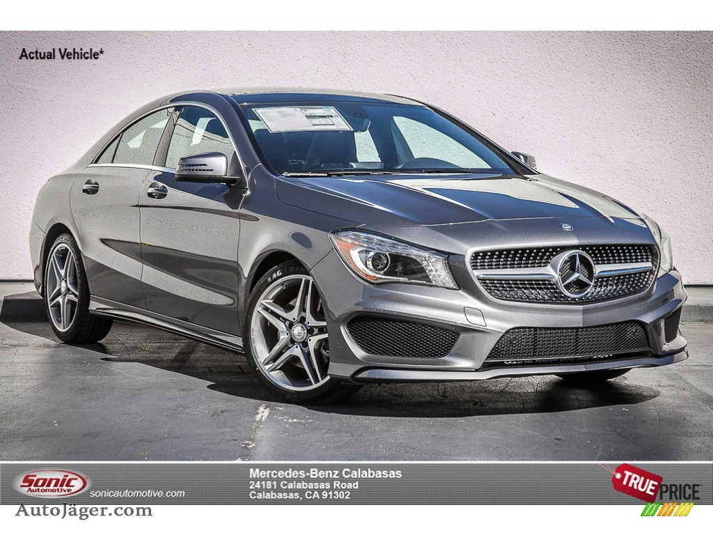 2015 Mercedes Benz Cla 250 In Mountain Grey Metallic