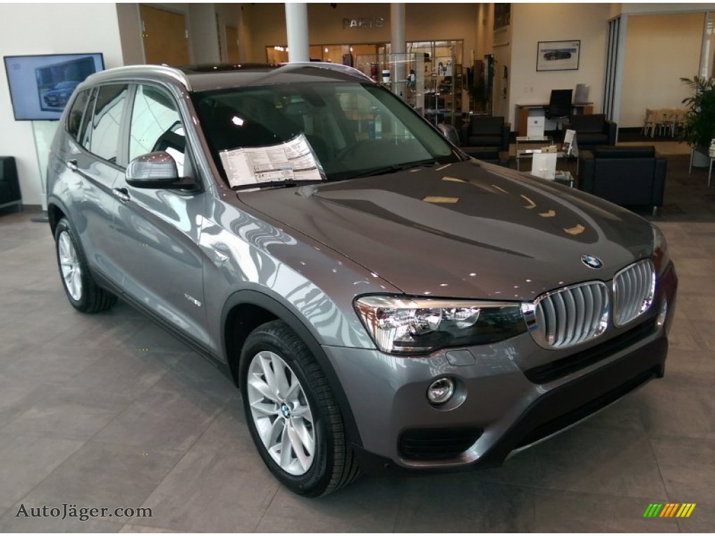 Space Grey Metallic / Black BMW X3 XDrive28i  M