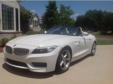Alpine White 2011 BMW Z4 sDrive35is Roadster