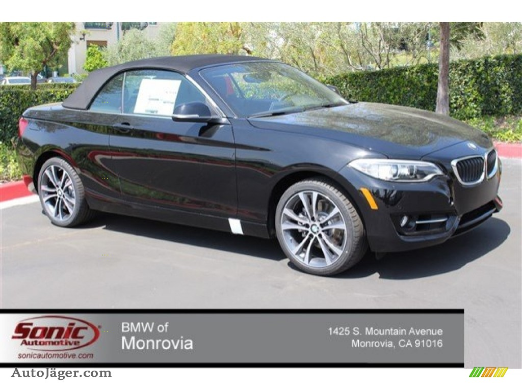 2015 Bmw 2 Series 228i Convertible In Jet Black 242820