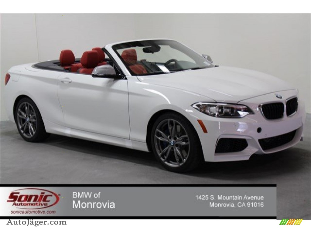2015 Bmw 2 Series M235i Convertible In Alpine White 393295 Auto J Ger German Cars For Sale