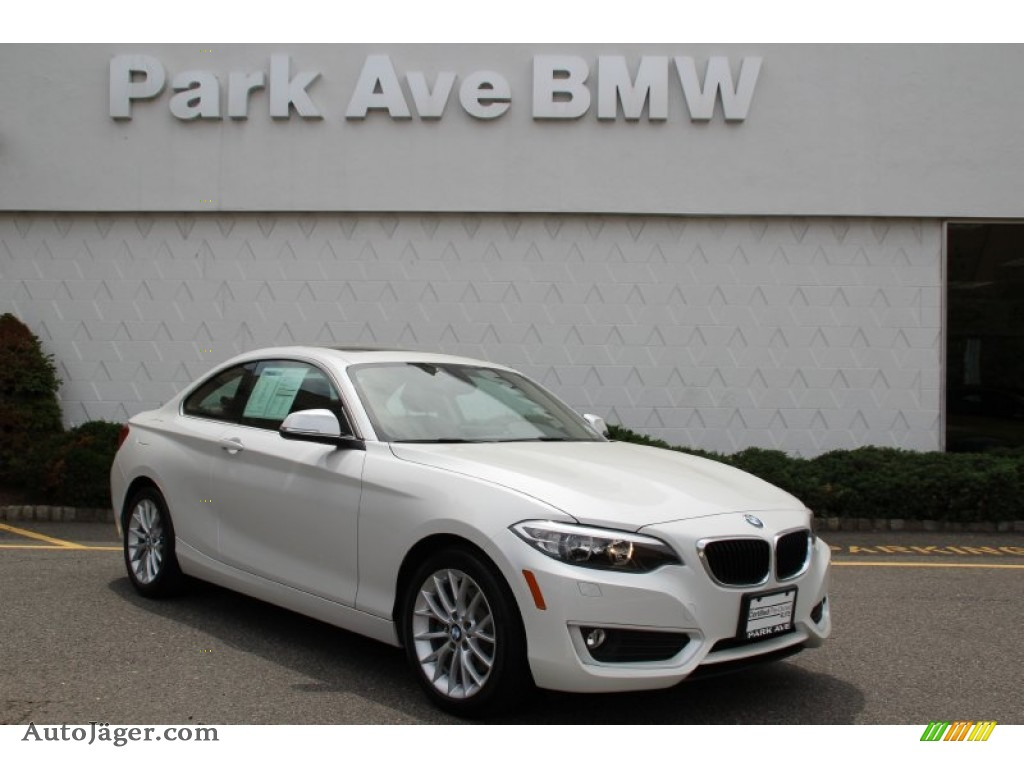 2015 bmw 2 series 228i xdrive coupe in mineral white metallic x95875 auto j ger german - Bmw 2 series coupe white ...