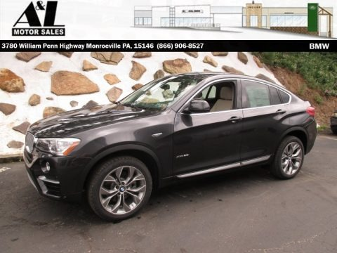 Dark Graphite Metallic 2016 BMW X4 xDrive28i