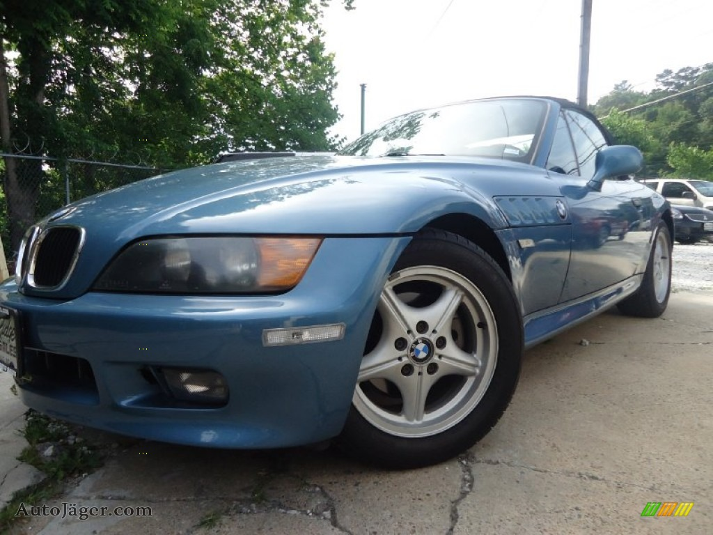 1996 z3 19 roadster atlanta blue metallic black photo 1 atlanta blue metallic 1996