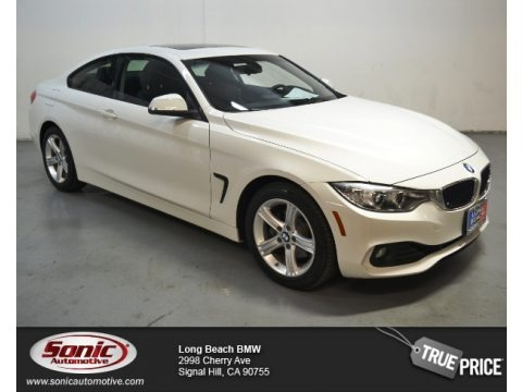 Alpine White 2014 BMW 4 Series 428i xDrive Coupe