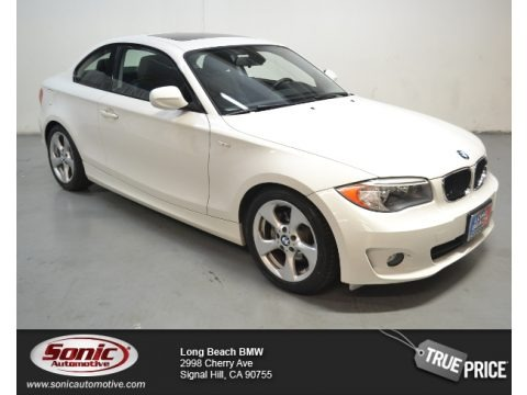 Alpine White 2012 BMW 1 Series 128i Coupe