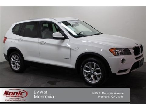 Alpine White 2013 BMW X3 xDrive 28i