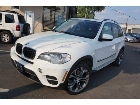 Alpine White 2012 BMW X5 xDrive35i Premium