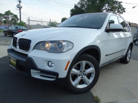 Alpine White 2008 BMW X5 3.0si