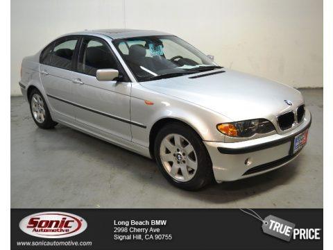Titanium Silver Metallic 2004 BMW 3 Series 325i Sedan