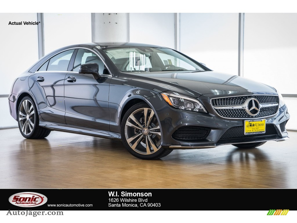 2016 mercedes benz cls 400 coupe in steel grey metallic for Mercedes benz cls 400 for sale