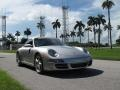Porsche 911 Carrera S Coupe Arctic Silver Metallic photo #1