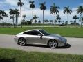 Porsche 911 Carrera S Coupe Arctic Silver Metallic photo #5