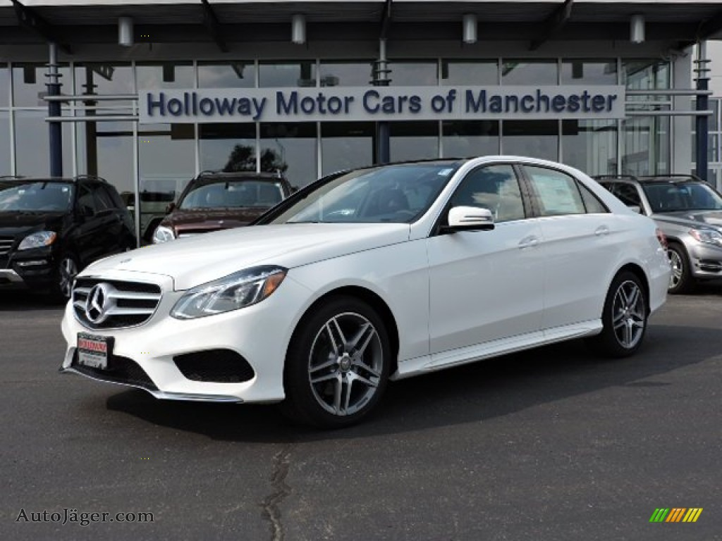 2016 mercedes benz e 400 4matic sedan in polar white for Simonson mercedes benz