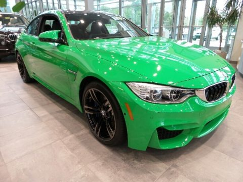 BMW Individual Signal Green 2016 BMW M4 Coupe