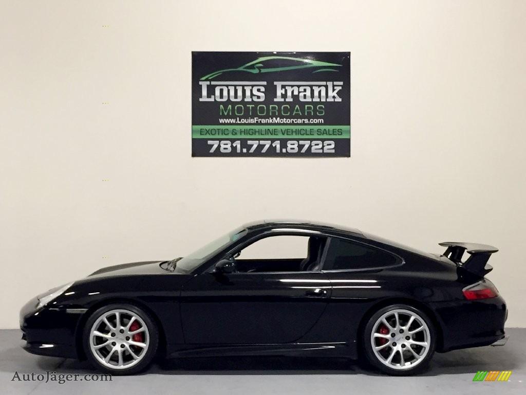 2003 911 Carrera Coupe - Black / Black photo #1