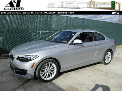 Glacier Silver Metallic 2016 BMW 2 Series 228i Coupe
