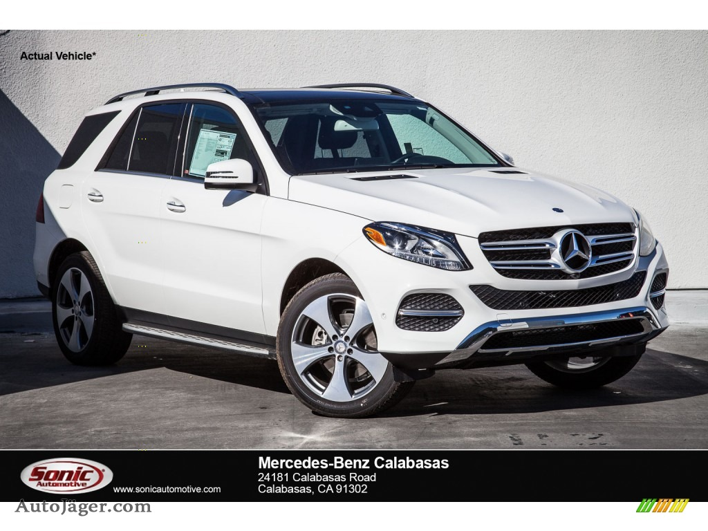 2016 mercedes benz gle 350 in polar white 678744 auto for Mercedes benz polar white paint