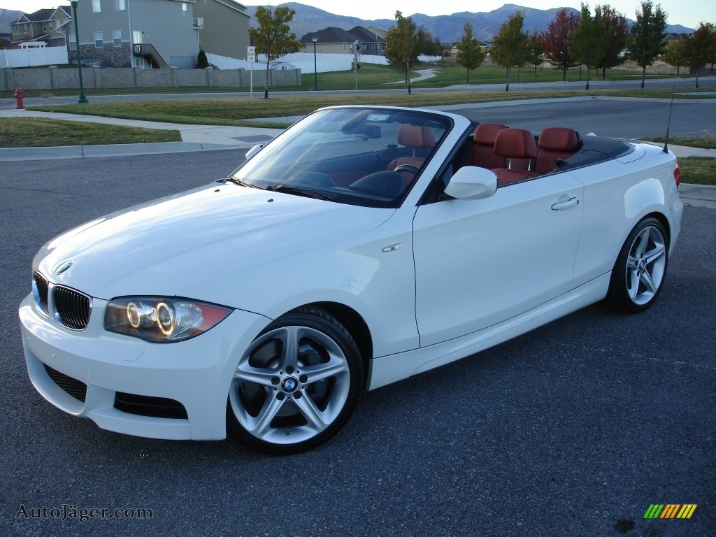 2010 Bmw 1 Series 135i Convertible In Alpine White For