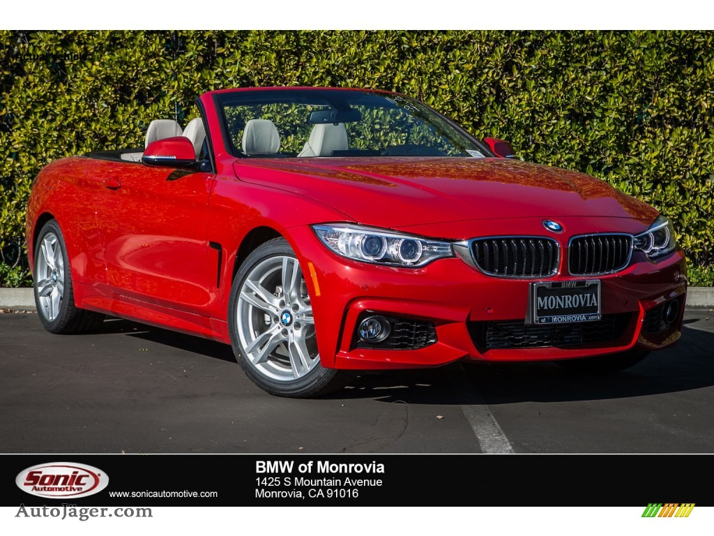 2016 Bmw 4 Series 428i Convertible In Melbourne Red Metallic A25863 Auto J 228 Ger German Cars