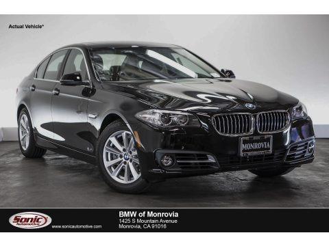 Jet Black 2016 BMW 5 Series 528i Sedan