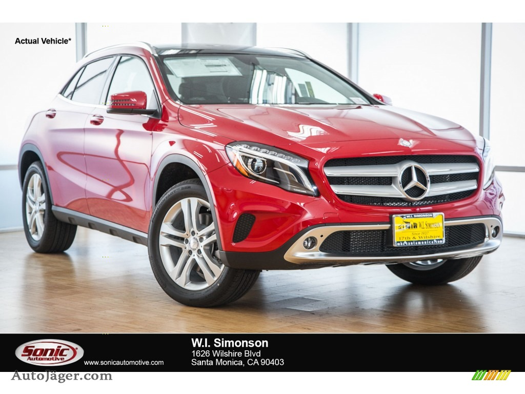 2016 mercedes benz gla 250 in jupiter red photo 6 for Simonson mercedes benz