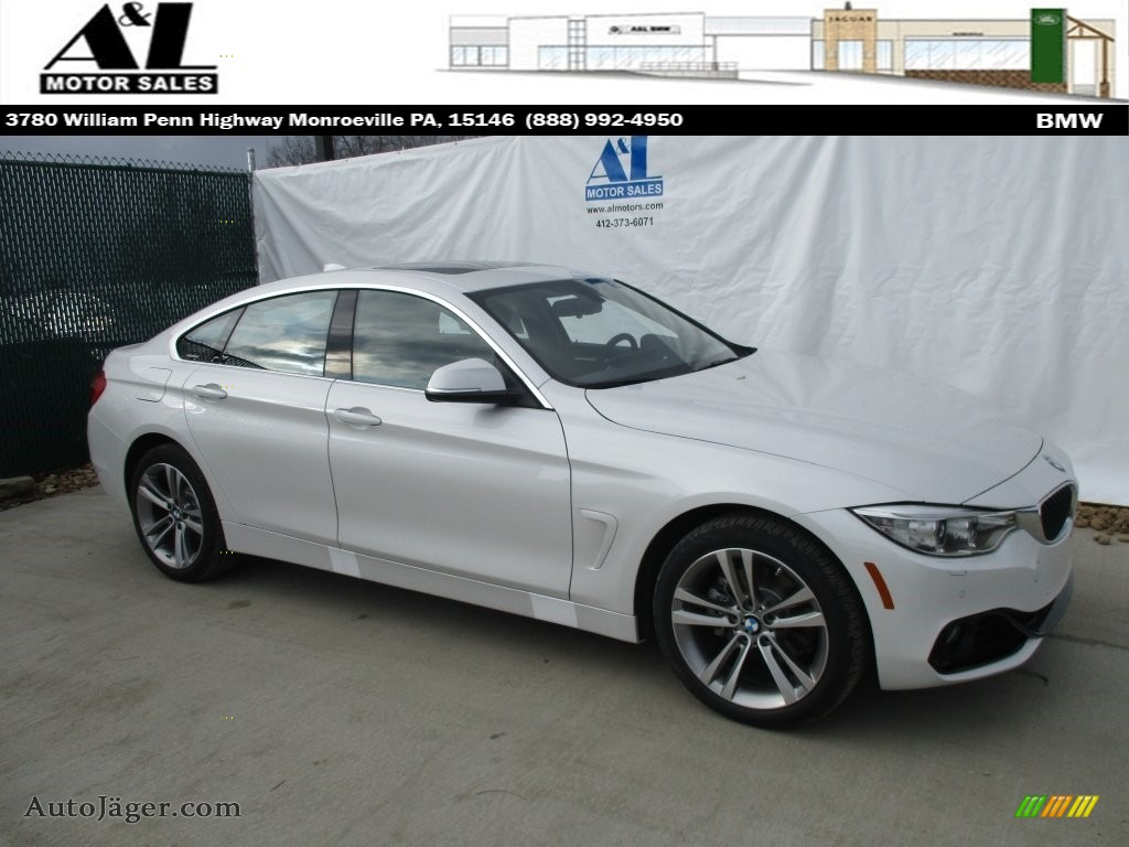 2016 Bmw 4 Series 428i Xdrive Gran Coupe In Mineral White Metallic 138603 Auto Jager German Cars For Sale In The Us