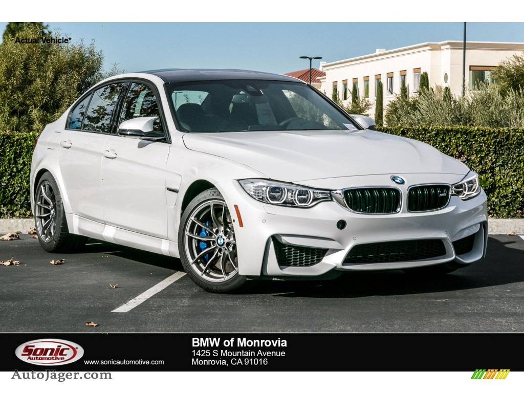 2016 Bmw M3 Sedan In Mineral White Metallic D31174