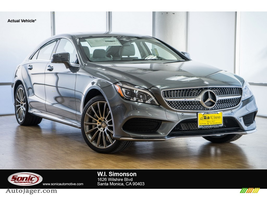 2016 mercedes benz cls 550 coupe in selenite grey metallic for 2016 mercedes benz cls550 for sale