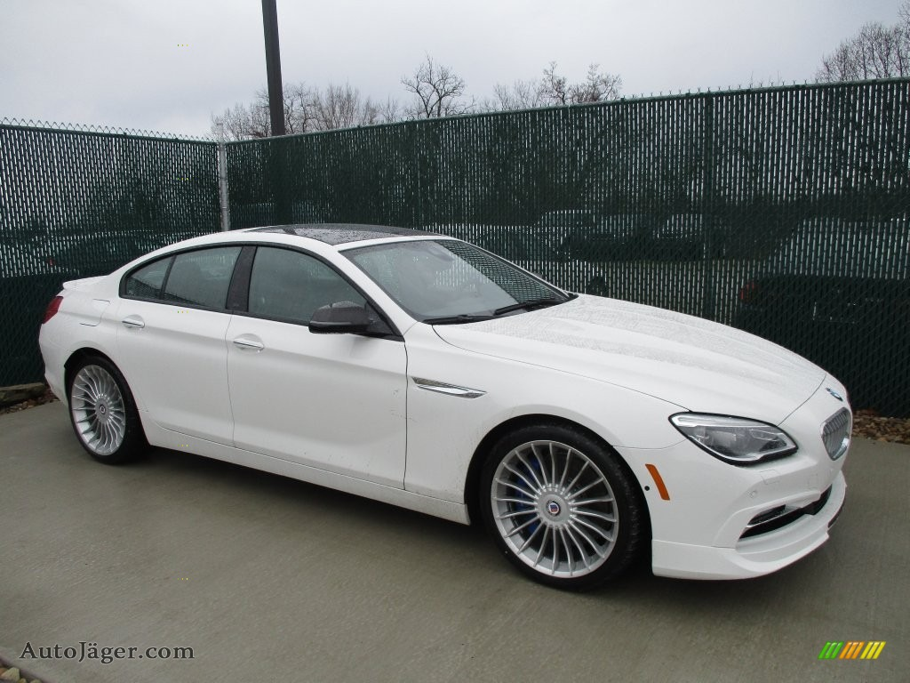 Alpine White Black BMW 6 Series ALPINA B6 XDrive Gran Coupe