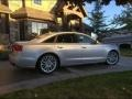 Audi A6 3.0T quattro Sedan Ice Silver Metallic photo #2