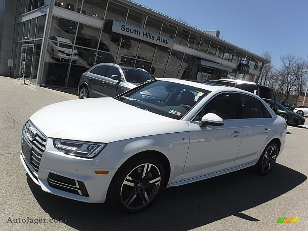 Glacier white metallic nougat brown audi a4 2 0t premium plus quattro
