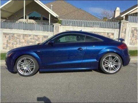 Scuba Blue Metallic 2012 Audi TT 2.0T quattro Coupe