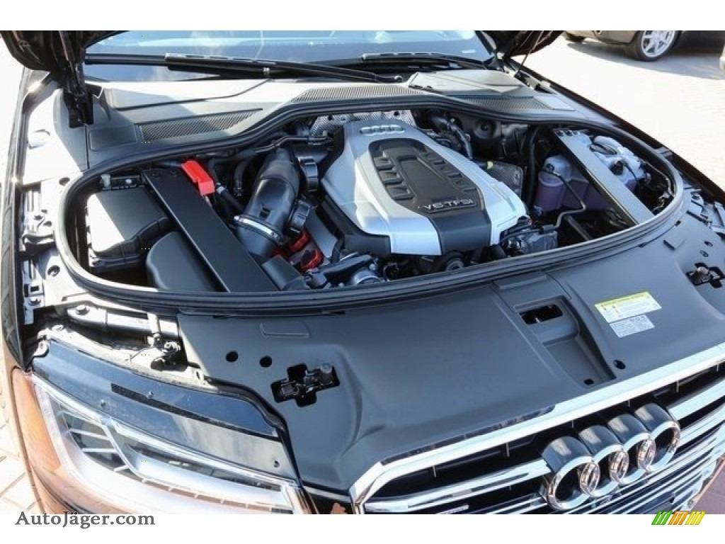 2015 A8 L 3.0T quattro - Phantom Black Pearl / Black photo #29