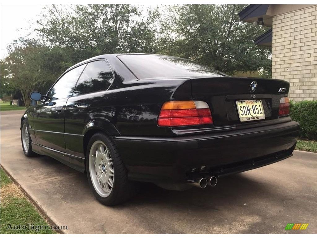 1995 M3 Coupe - Jet Black / Black photo #4