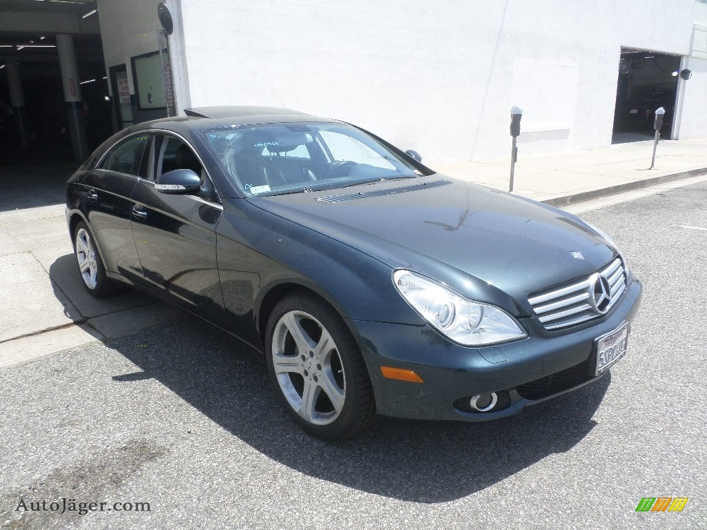 2006 mercedes benz cls 500 in capri blue metallic 050965 for Simonson mercedes benz
