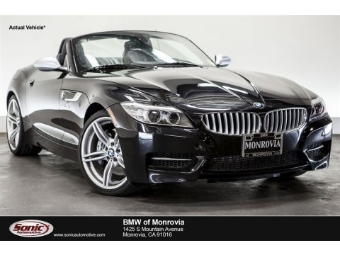 Black Sapphire Metallic 2016 BMW Z4 sDrive35is
