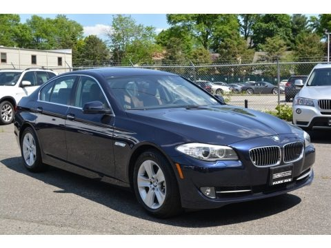 Imperial Blue Metallic 2013 BMW 5 Series 528i xDrive Sedan