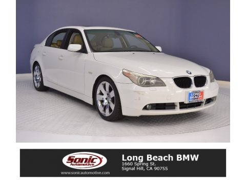 Alpine White 2005 BMW 5 Series 530i Sedan