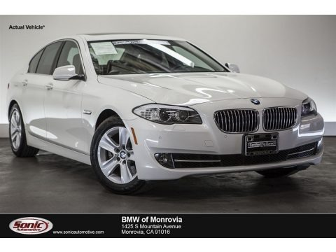 Alpine White 2013 BMW 5 Series 528i Sedan