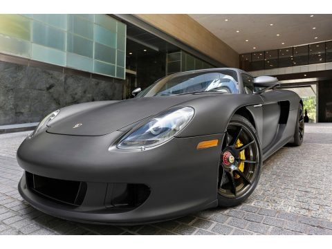 Black 2005 Porsche Carrera GT